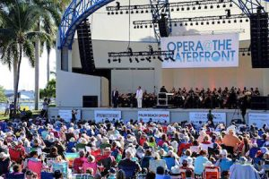 Enjoy the Opera at The Waterfront on Saturday