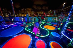 Glow Fore It Mini Golf on the Waterfront