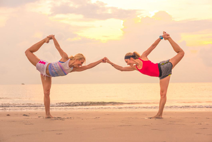 Yoga Class / Discover the Palm Beaches