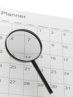 Calendar - Martin Luther King