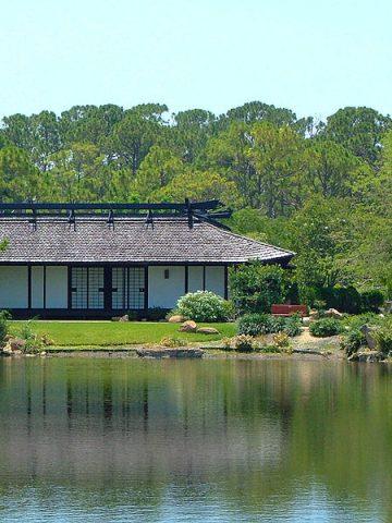 Morikami Museum Lake House / Wikimedia