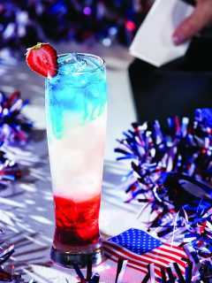 The Patriot Cocktail from Boston's on the Beach / Photo by Georgy Papp