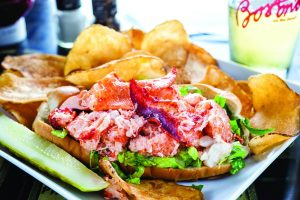 Lobster Roll for the super bowl / photo by gyorgy papp
