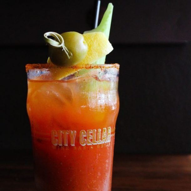 Bloody Mary at City Cellar