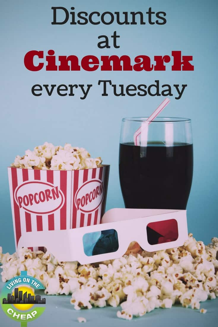 Discounts At Cinemark Every Tuesday Palm Beach On The Cheap