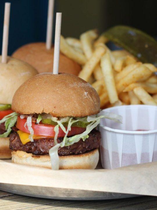 Mini Vegan Cheeseburgers | photo courtesy of Johnnie Brown's