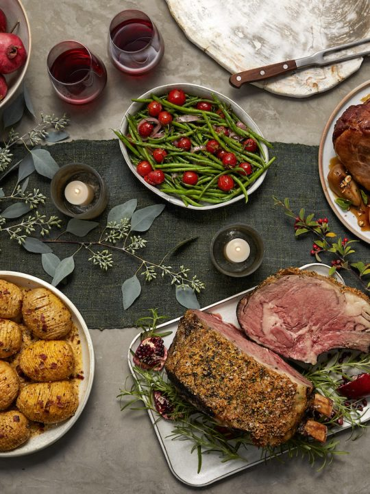 New Year's Eve Dining courtesy of Wild Fork