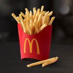 Get free fries at McDonald's every Friday